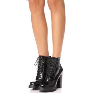 NWB Jeffrey Campbell Legion Lace Up Boot